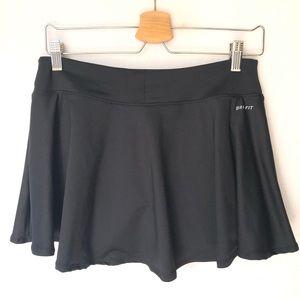 Nike Shorts - Nike Dry Fit Tennis Skirt Skort Black Women's M